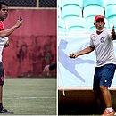 Técnicos Rodrigo Chagas, do Vitória, e Cláudio Prates, do Bahia, vão se enfrentar no clássico em Pituaçu