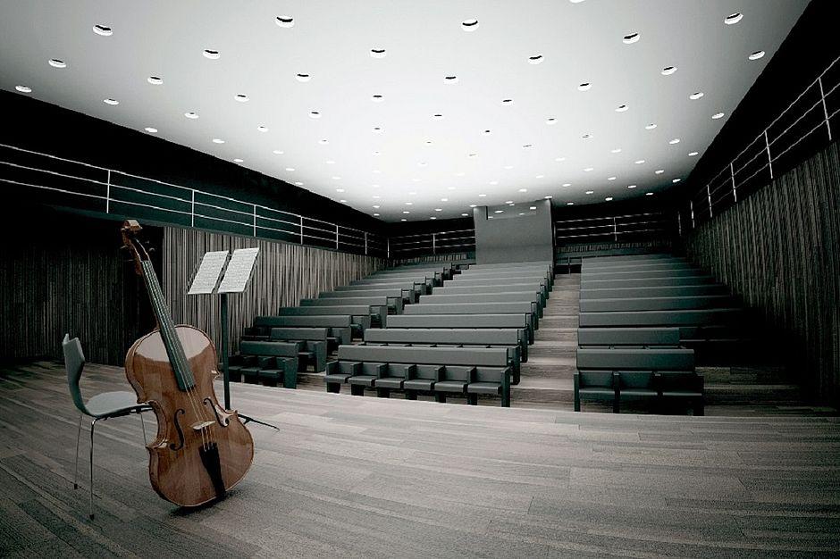 Sala do coro do TCA vai passar por reforma
