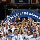 Bahia faturou o tricampeonato do Nordestão em 2017