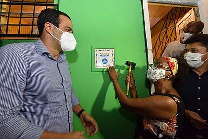 Prefeitura de Salvador entrega 199 casas reformadas pelo Morar Melhor no Pero Vaz