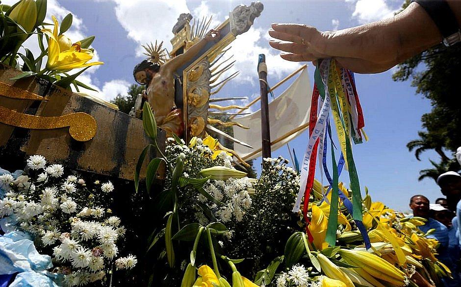 Imagem do Senhor do Bonfim percorrerá as ruas de Salvador nesta sexta (3)