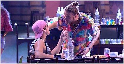 Daniel e Prior discutem por causa de punições