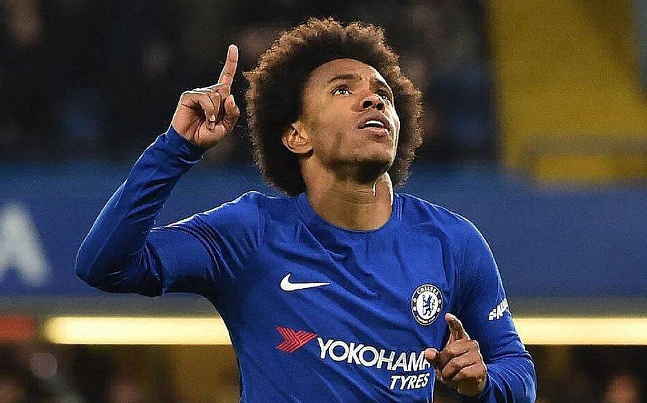 """O brasileiro Willian, do Chelsea, faz parte da iniciativa """"Players Together"""""""