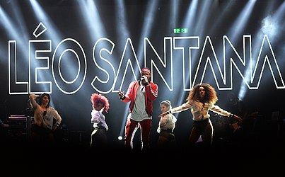 Léo Santana foi um dos principais artistas do Salvador Fest
