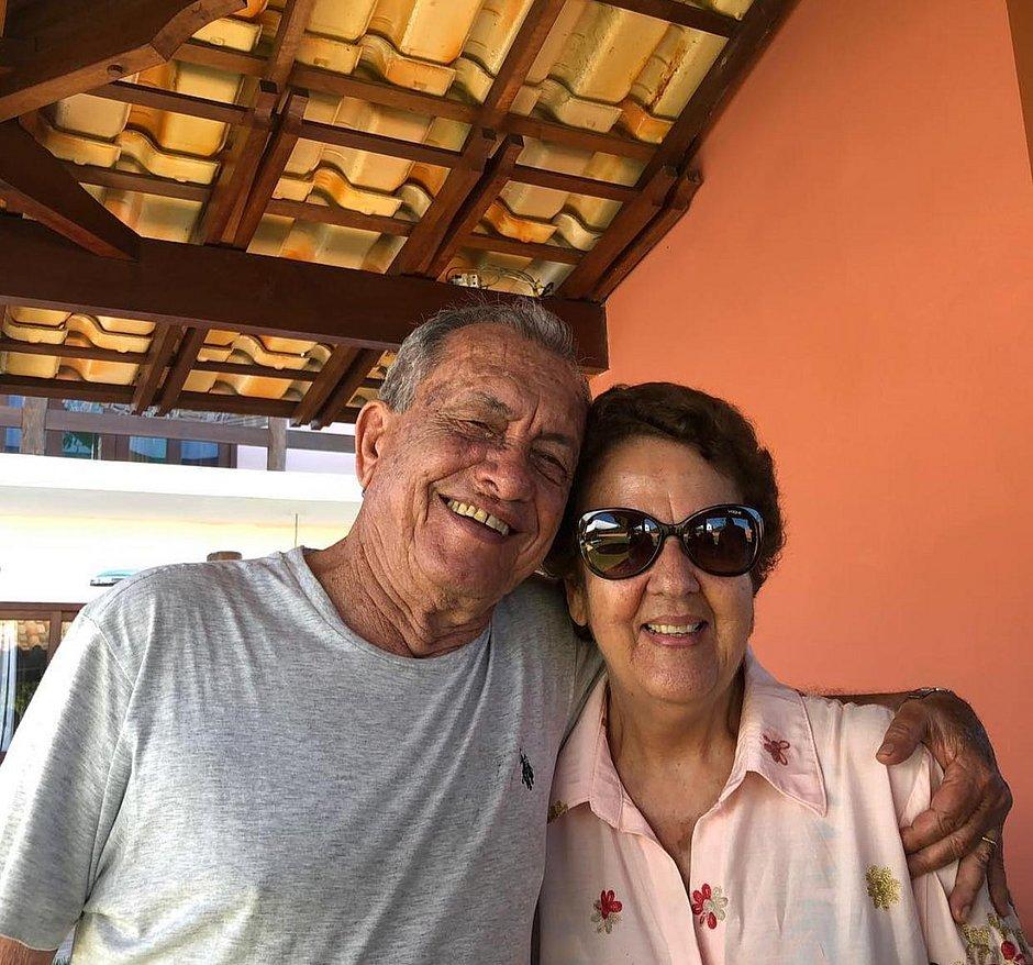 Martha e o marido Vladmir fazem check up anual em Salvador