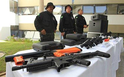 Agentes penitenciários baianos trabalharão armados pela primeira vez