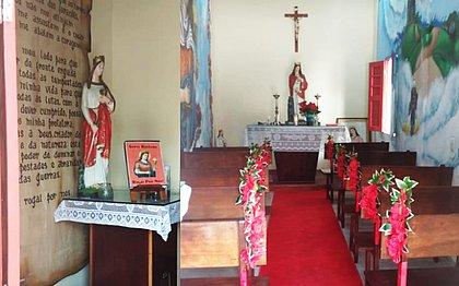 Este ano, a Paróquia do Quartel da Barroquinha vai ficar vazia e a tradicional missa será transmitida pela internet