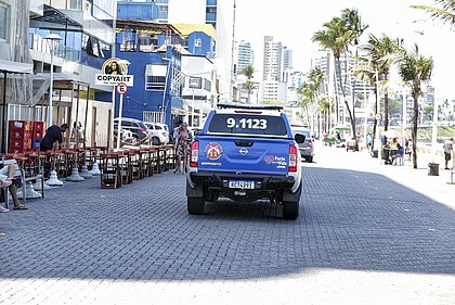 Barra tem policiamento reforçado como medida do novo comandante da 11ª CIPM