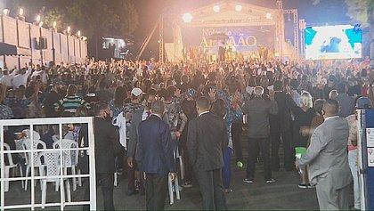 Fiscalização encerra culto evangélico com mais de 2 mil pessoas em Curitiba