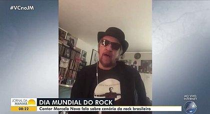 Negacionista, Marcelo Nova critica medidas sanitárias no Jornal da Manhã
