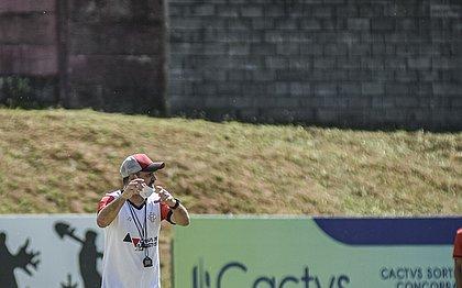 Técnico Wagner Lopes quer força total diante do Itabaiana