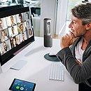 Reuniões virtuais ganharam um boom com a pandemia