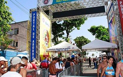 Portais de abordagens no acesso ao Carnaval: 430 apreensões