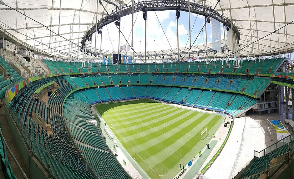 Fonte Nova concorre com outros estádios do Brasil, Chile, Equador e Argentina