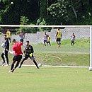 De olho no Criciúma, elenco do Vitória treina na Toca do Leão