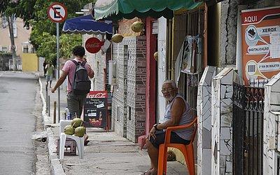 Rua Plínio de Lima, vizinha do antigo Couto Maia