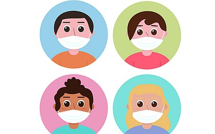 Pff2 para crianças: 10 dúvidas sobre o uso desse tipo de máscara na infância