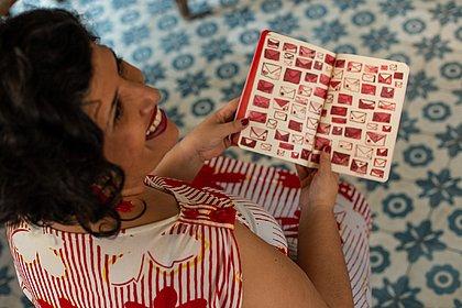A contadora de histórias Danielle Andrade