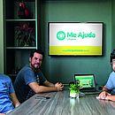 Equipe da startup Me Ajuda Limpeza