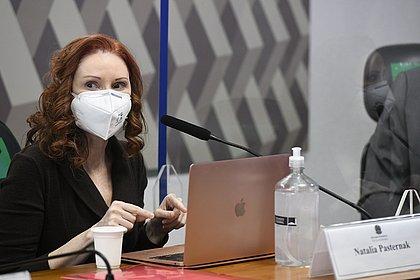 Pasternak diz na CPI que testes mostram que cloroquina não funciona contra covid