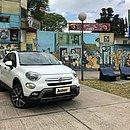 A Fiat comercializa na Argentina o 500X, um SUV com estilo inspirado no seu compacto e montado sobre a mesma base do Jeep Renegade