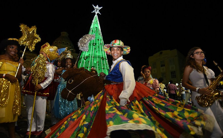 Proposta foi reunir diversas atrações regionais que celebram o nascimento de Jesus