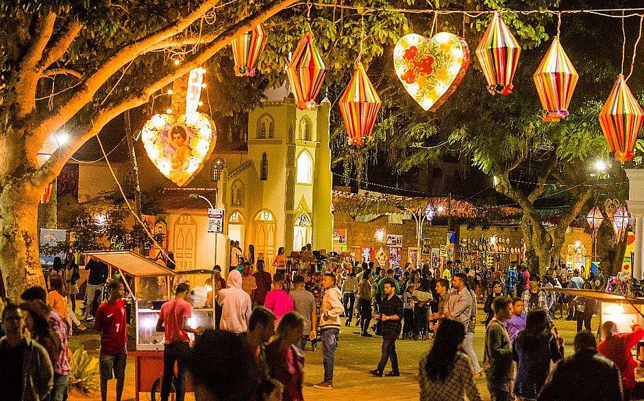 São João de Amargosa é um dos mais tradicionais da Bahia e destino de muita gente da capital. O desse ano, como os das outras cidades, foi cancelado