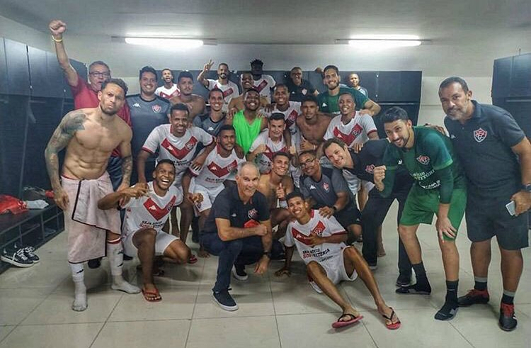 Vitória fica dois jogos seguidos sem sofrer gols pela primeira vez em 2019