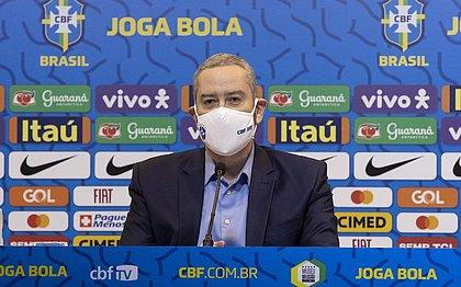 Rogério Caboclo defendeu a manutenção do futebol no Brasil