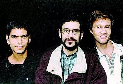 A formação da Legião Urbana era Dado Villa-Lobos, Renato Russo e Paulo Bonfá