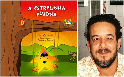 A capa do livro e o autor, Lula Oliveira