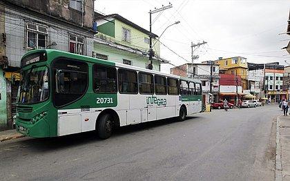 Pela manhã, ônibus estavam circulando até o final de linha do bairro