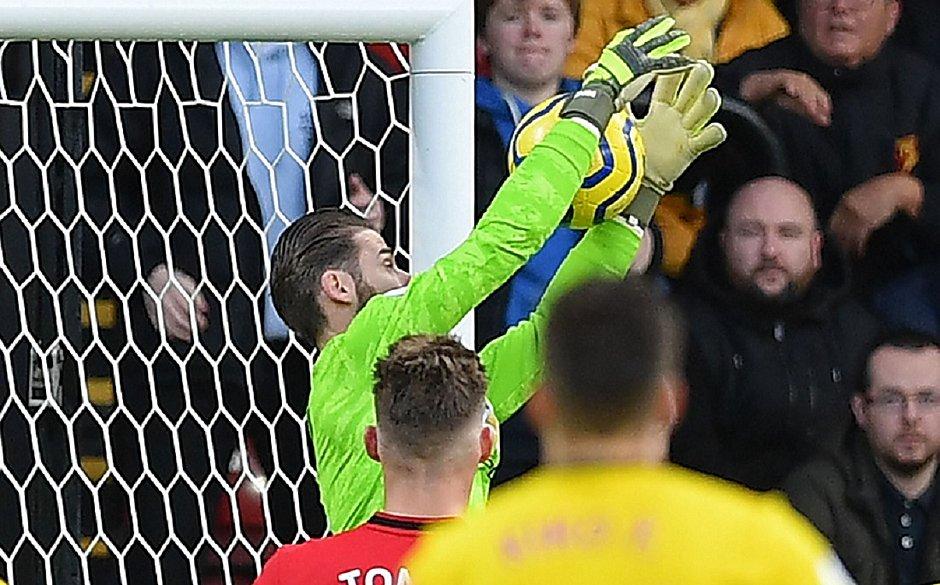 De Gea falha feio e Man. United perde para lanterna Watford