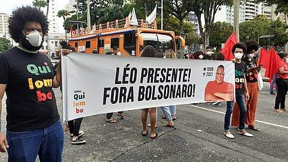 Manifestação pede impeachment do presidente