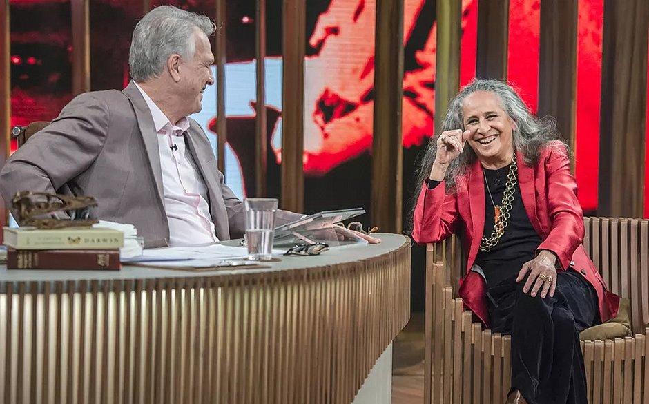 Maria Bethânia revela 1º amor e conta que namorou com Fábio Júnior: 'Bom demais!'