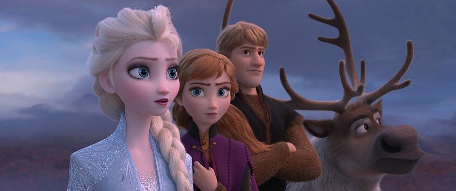 Nova aventura das irmãs Elsa e Anna destaca o amor familiar