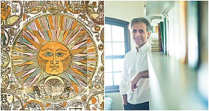 O astrólogo Oscar Quiroga