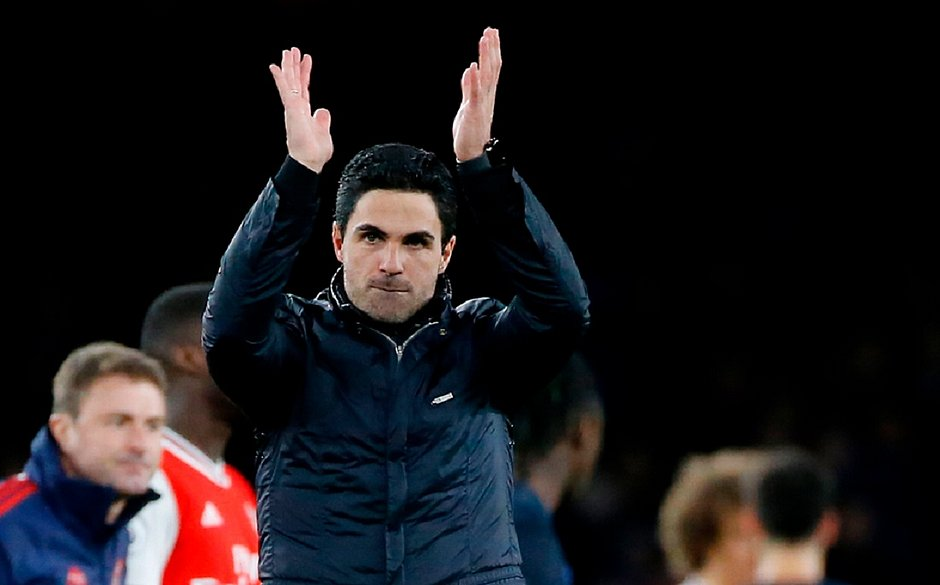 Arteta, do Arsenal, diz estar totalmente recuperado da Covid-19