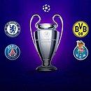 Bayern,Chelsea,Dortmund, Liverpool,Manchester City,PSG,PortoeReal Madrid estão nas quartas