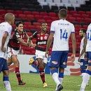 Vitinho fez o gol da virada flamenguista aos 44 do segundo tempo