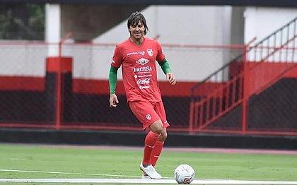 Marcelo Moreno em treino pela Seleção Boliviana