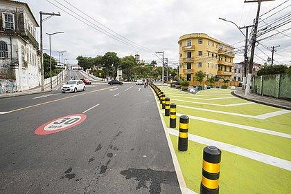 Redução de velocidade para 30km/h passa a valer nos bairros do Bonfim e Patamares
