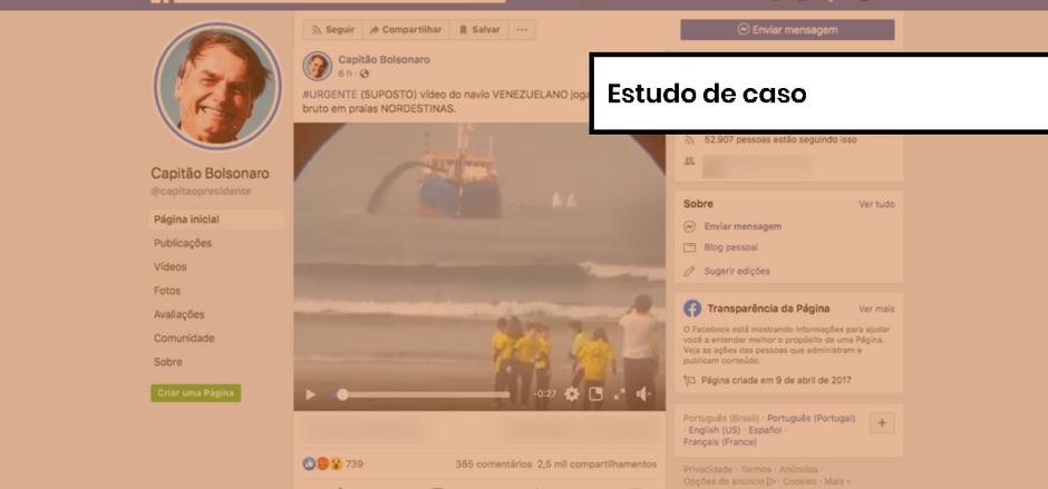 Comprova: o 'navio venezuelano' era português; como verificamos