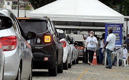 Vacinação em Salvador inclui pessoas a partir de 48 anos neste sábado (19)