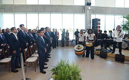 Autoridades locais e nacionais participaram da solenidade que contou, também, com apresentações musicais