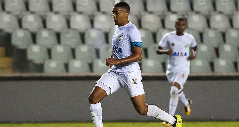 Gregore estava no Sub-23 do Santos e chega ao Bahia por empréstimo
