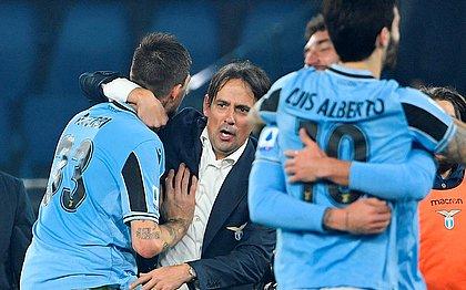 Lazio venceu e não deixou a Juventus disparar na ponta do Campeonato Italiano