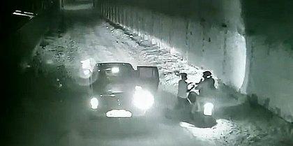 Vídeo mostra grupo abordando a testemunha, que foi sequestrada e segue desaparecida