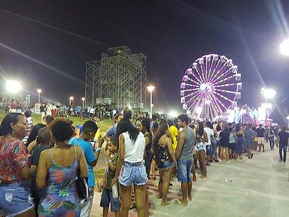 Roda-gigante no Festival Virada Salvador já atraiu mais de 15 mil pessoas por dia
