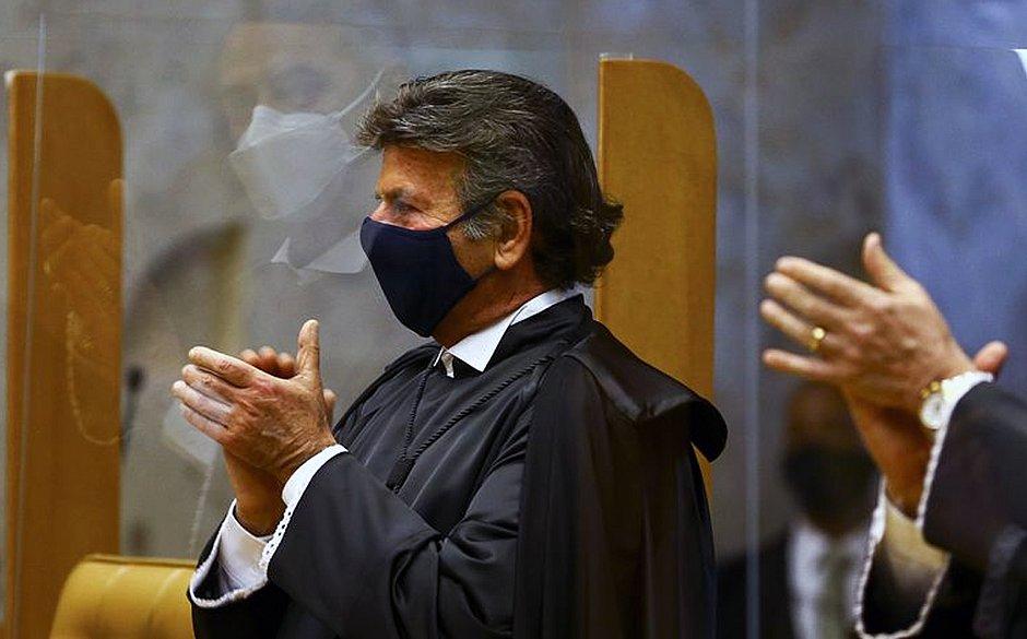 Novo presidente do Supremo, Luiz Fux testa positivo para covid-19